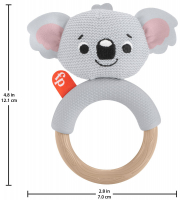 Wholesalers of Fisher Price Knit -knack Rattle Pals Asst toys image 4