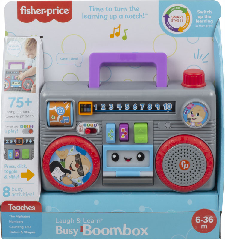 Wholesalers of Fisher Price L&l Boom Box toys