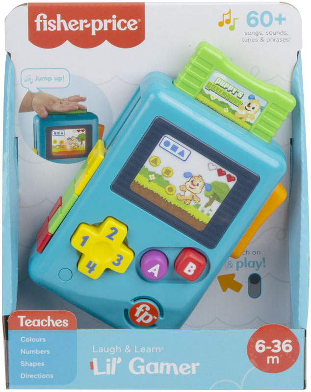Wholesalers of Fisher Price L&l Lil Gamer toys