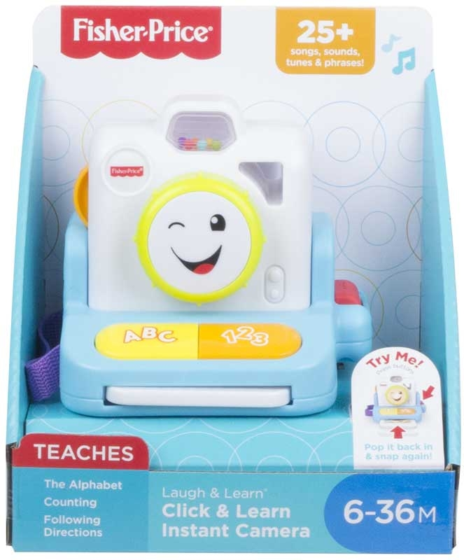 Wholesalers of Fisher-price Laugh & Learn Click & Learn Instant Camera toys