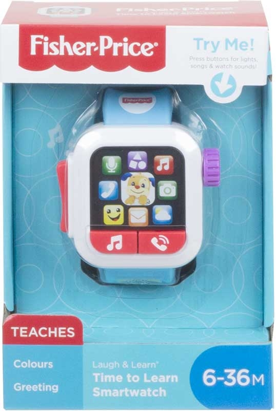 Wholesalers of Fisher-price Laugh & Learn Time To Learn Smartwatch toys