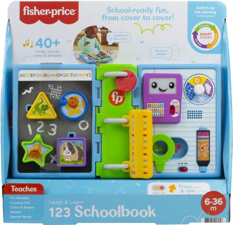 Wholesalers of Fisher-price Laugh And Learn  123 Schoolbook toys