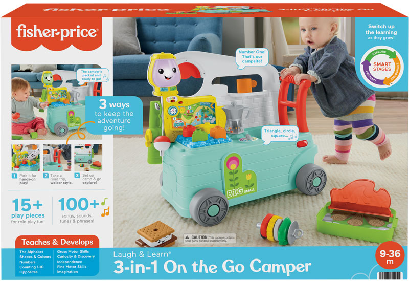 Wholesalers of Fisher-price Laugh And Learn 3-in-1 On-the-go Camper toys