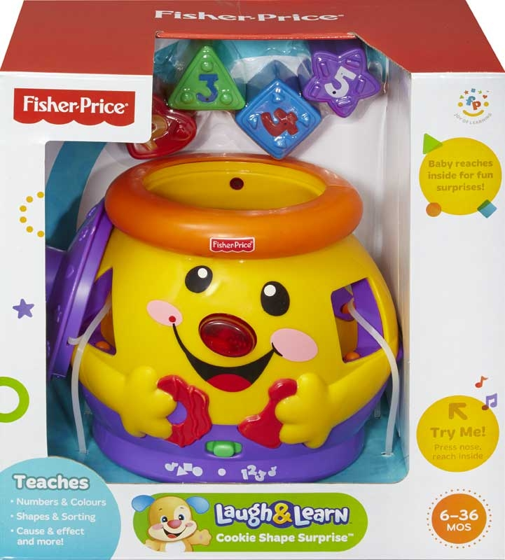 Wholesalers of Fisher Price Laugh And Learn Cookie Shape Surprise toys