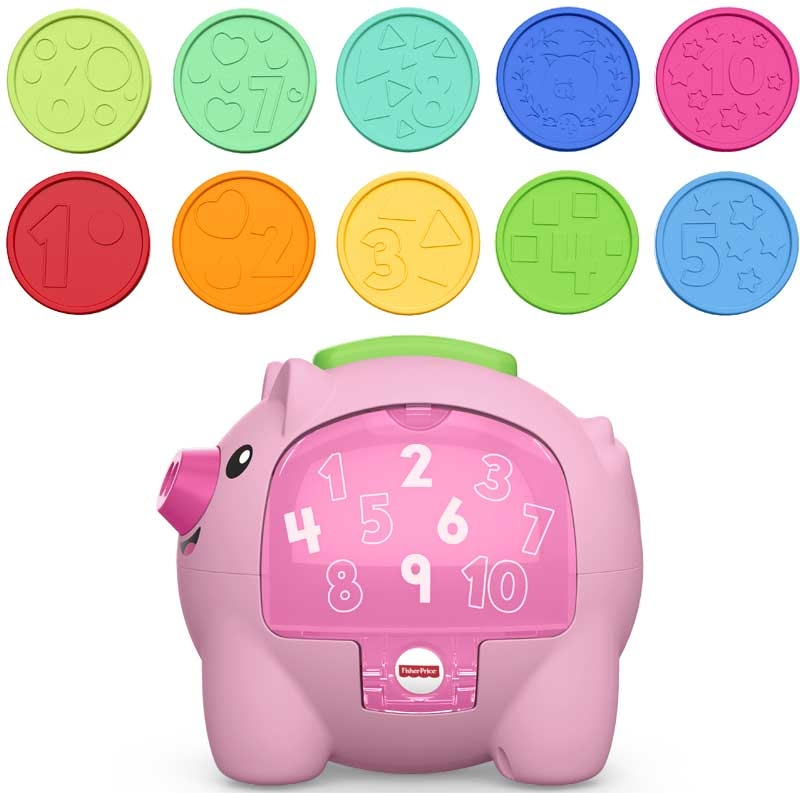 Wholesalers of Fisher Price Laugh And Learn Count And Rumble Piggy Bank toys