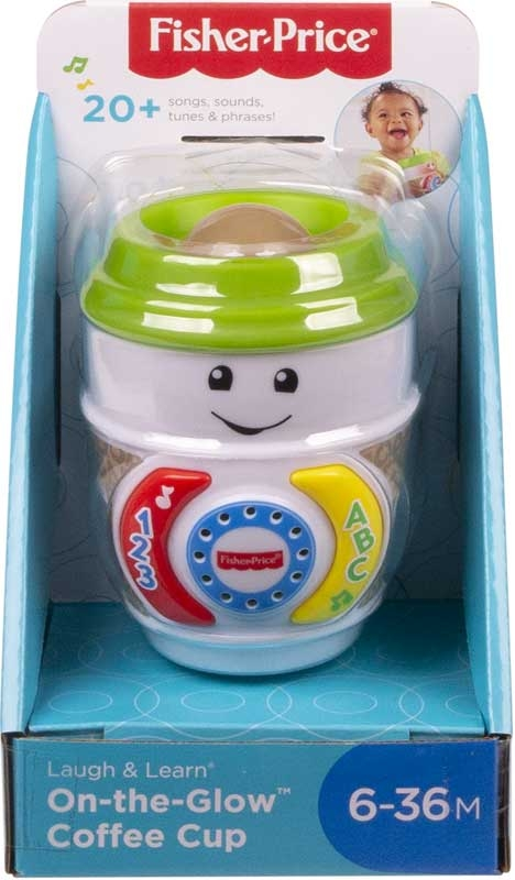 Wholesalers of Fisher Price Laugh And Learn On-the-glow Coffee Cup toys