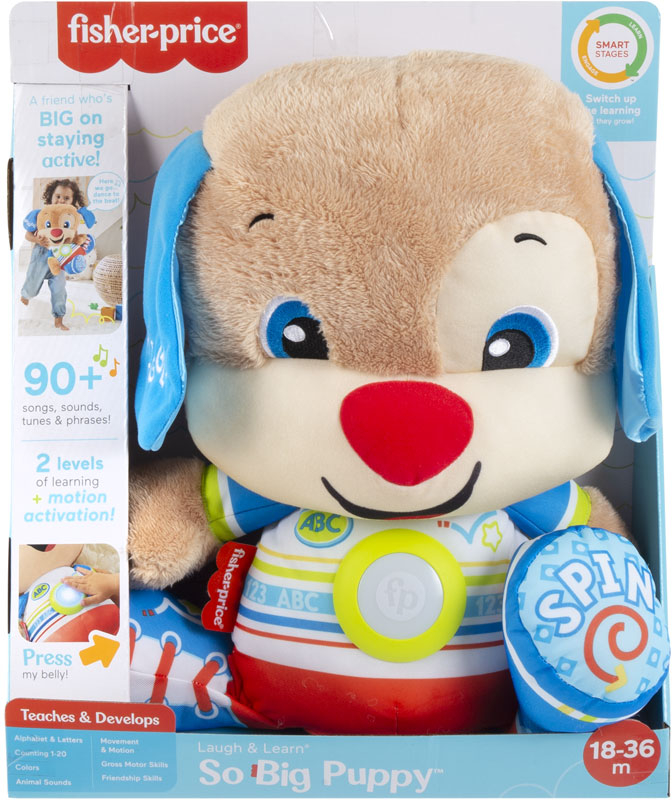 Wholesalers of Fisher-price Laugh And Learn So Big Puppy toys