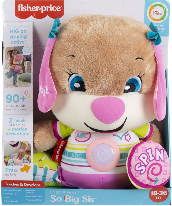 Wholesalers of Fisher-price Laugh And Learn So Big Sis toys