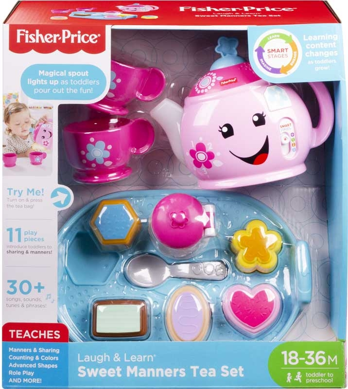 Wholesalers of Fisher Price Laugh And Learn Sweet Manners Tea Set toys