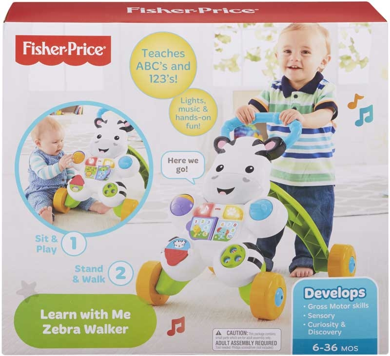 Wholesalers of Fisher Price Learn With Me Zebra Walker toys