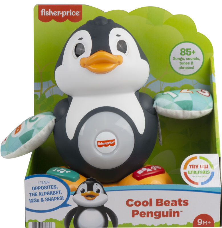 Wholesalers of Fisher-price Linkimals Cool Beats Penguin toys