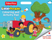 Wholesalers of Fisher Price Little People Artist Pad toys image
