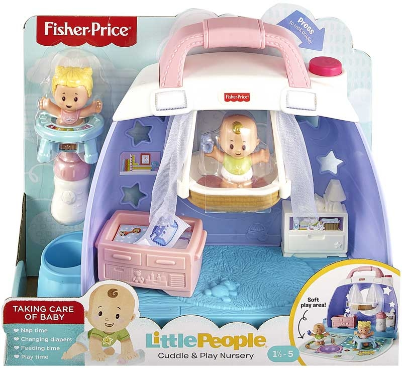 Wholesalers of Fisher-price Little People Cuddle & Play Nursery toys