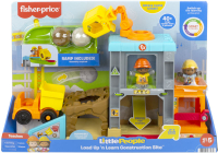 Wholesalers of Fisher-price Little People Load Up N Learn Construction Site toys image