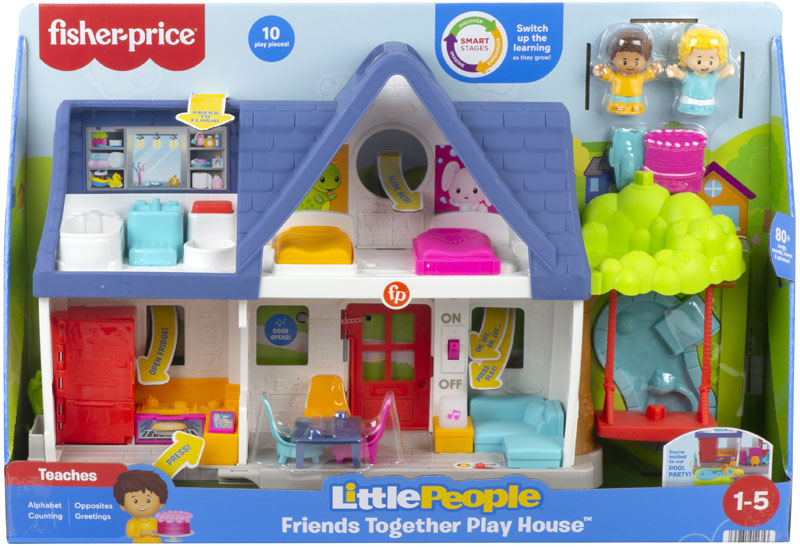 Wholesalers of Fisher-price Little People Play House toys