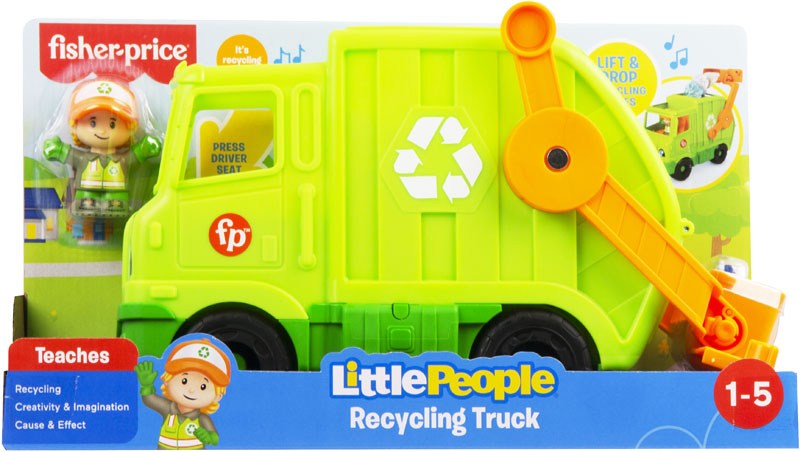 Wholesalers of Fisher-price Little People Recycling Truck toys