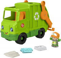 Wholesalers of Fisher-price Little People Recycling Truck toys image 2