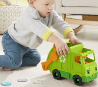 Wholesalers of Fisher-price Little People Recycling Truck toys image 4
