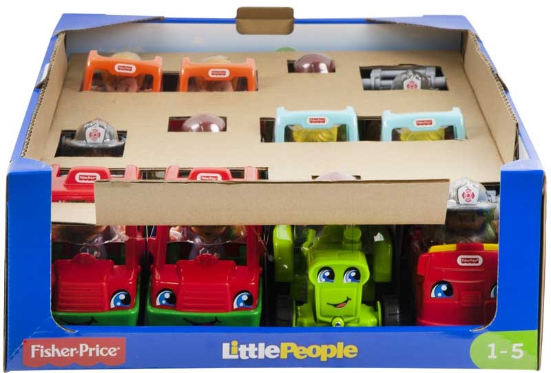 Wholesalers of Fisher-price Little People Small Vehicles Assortment toys