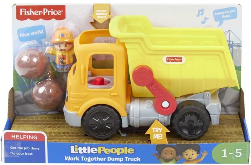 Wholesalers of Fisher-price Little People Work Together Dump Truck toys