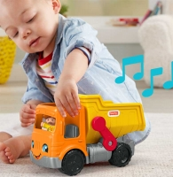 Wholesalers of Fisher-price Little People Work Together Dump Truck toys image 3