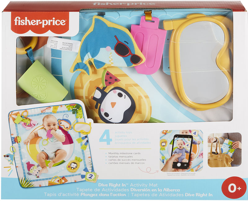 Wholesalers of Fisher Price Make A Splash Activity Pool Mat toys