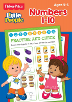 Wholesalers of Fisher Price Numbers Activity Book toys image