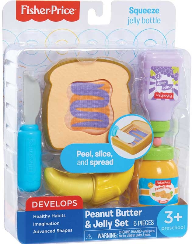 Wholesalers of Fisher Price Peanut Butter And Jelly Sandwich Set toys