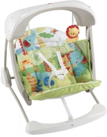 Wholesalers of Fisher-price Rainforest Friends Take-along Swing & Seat toys image 2