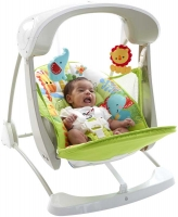 Wholesalers of Fisher-price Rainforest Friends Take-along Swing & Seat toys image 3