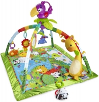 Wholesalers of Fisher-price Rainforest Music & Lights Deluxe Gym toys image 2