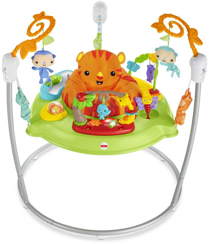 Wholesalers of Fisher-price Roarin Rainforest Jumperoo toys