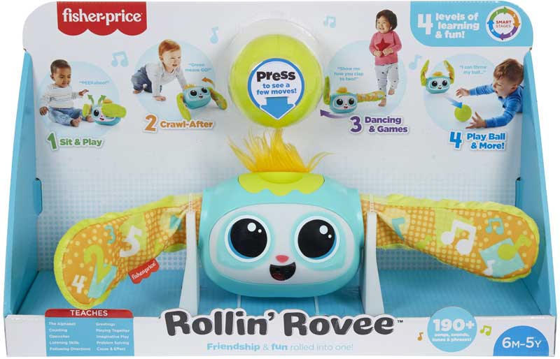 Wholesalers of Fisher Price Rollin Rovee toys