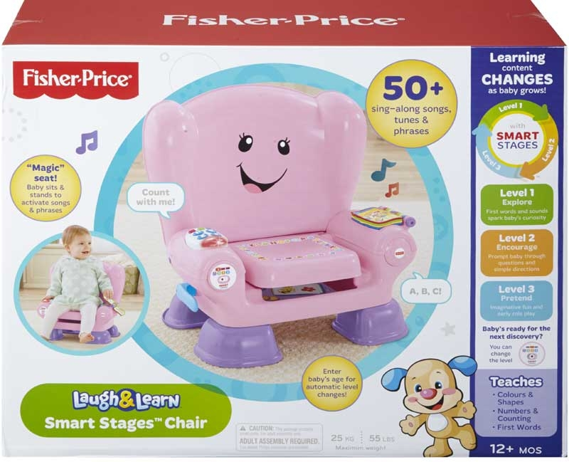 Wholesalers of Fisher Price Smart Stages Chair Pink toys