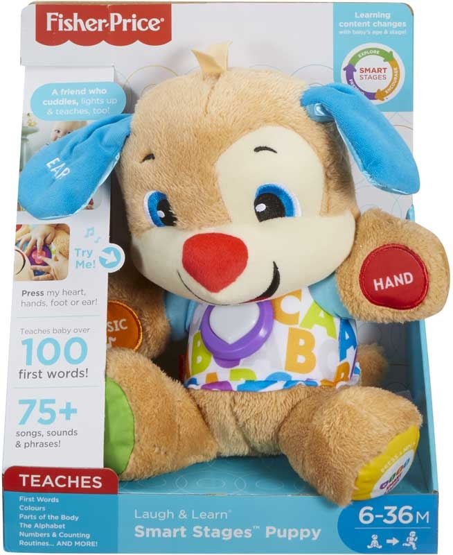 Wholesalers of Fisher Price Smart Stages Puppy toys