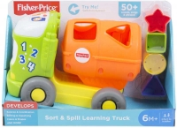 Wholesalers of Fisher Price Sort And Spill Learning Truck toys image