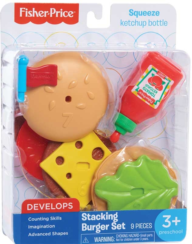 Wholesalers of Fisher Price Stacking Burger Set toys