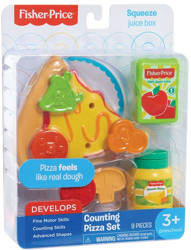 Wholesalers of Fisher Price Stretchy Pizza Set toys