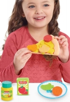 Wholesalers of Fisher Price Stretchy Pizza Set toys image 3