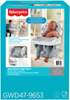 Wholesalers of Fisher Price Terrazzo High Chair toys image