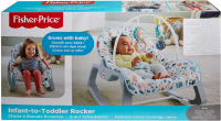 Wholesalers of Fisher-price Terrazzo Infant To Toddler Rocker toys image