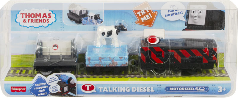 Wholesalers of Fisher-price Thomas And Friends Talking Diesel toys