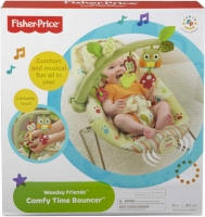 Wholesalers of Fisher-price Woodsy Friends Comfy Time Bouncer toys image