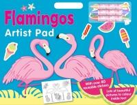 Wholesalers of Flamingo Artist Pad toys image
