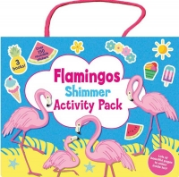 Wholesalers of Flamingo Shimmer Activity Pack toys image