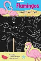 Wholesalers of Flamingos Scratch Art Set toys image