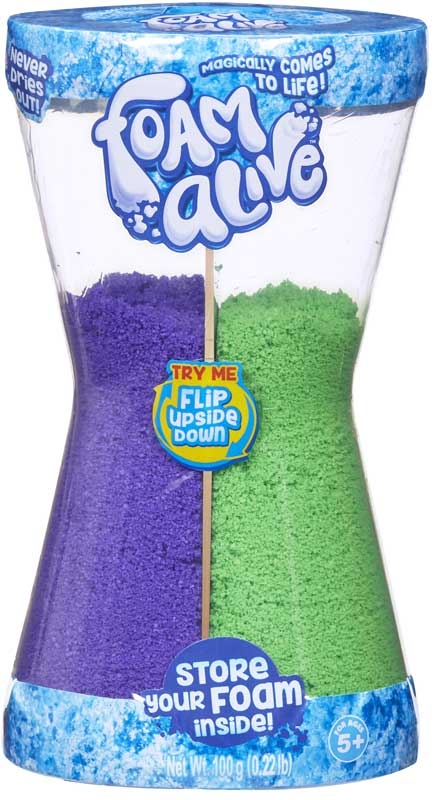 Wholesalers of Foam Alive Double Flip Pack toys