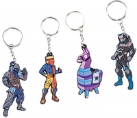 Wholesalers of Fortnite 2d Keychain Asst toys image 3