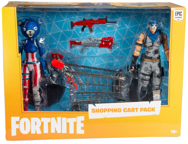 Wholesalers of Fortnite Shopping Cart Pack toys