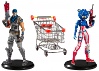 Wholesalers of Fortnite Shopping Cart Pack toys image 3